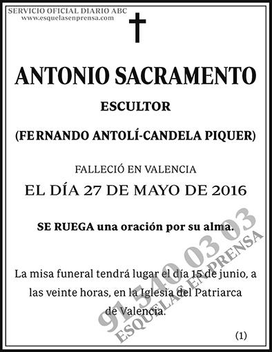 Antonio Sacramento